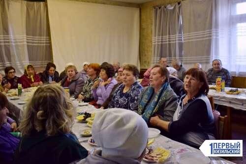 Спасибо за то, что вы рядом! В Доме культуры поселка Гранитный поздравили людей старшего поколения.