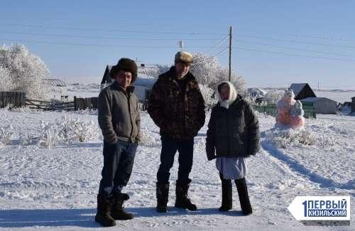 В гостях у сказки. В Первомайке появилась галерея снежных скульптур