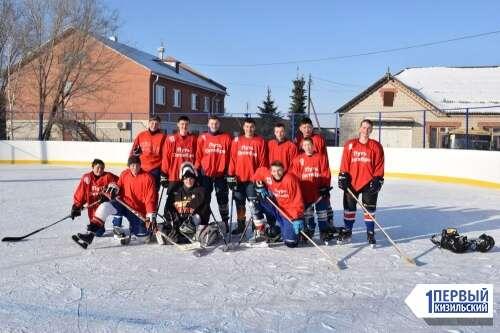 Спортивное воскресенье. В Кизильском районе прошли соревнования по хоккею сразу на четырех площадках
